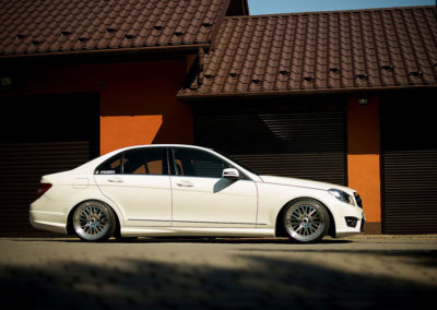 MERCEDES C CLASS | JR10 | Silver Machined | 18×8.5 & 18×9.5