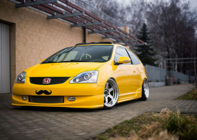 HONDA CIVIC EP | JR12 | Hyper Silver | 17×9