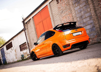 FORD FOCUS ST | JR3 | Matt Black | 18×9