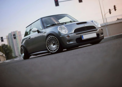 MINI COOPER | JR14 | Silver Finish | 16×9