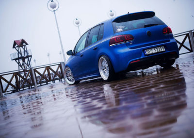 VW GOLF 6 R | JR10 | Silver Machined | 18×8.5 & 18×9.5