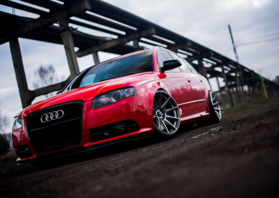 AUDI A4 | JR11 | Hiper Black | 18×9.5 ET30