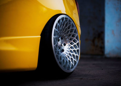 HONDA CIVIC | JR17 | Silver Machined | 18×9.5