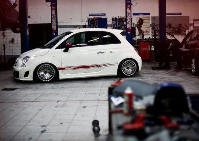 FIAT 500 | JR14 | Silver Finish | 16×9