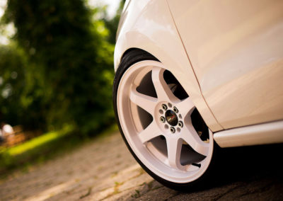 VW POLO | JR3 | White | 18×9