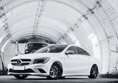 MERCEDES CLA | JR18 | Hyper Black | 19×9.5