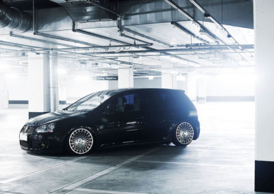 VW GTI MK5 | JR14 | Black Machined Face Finish