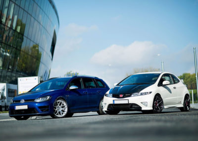 VW GOLF MK7 R | JR18 | Silver Machined