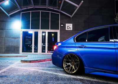 BMW F30 | JR18 | Matt Bronze