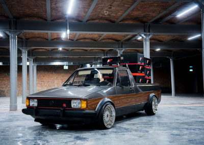 VW CADDY MK1 | JR9 | Chrome