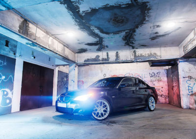 BMW E60 | JR18 | Silver Machined