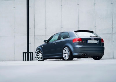 AUDI S3 | JR18 | Silver Machined