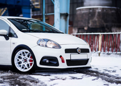 FIAT GRANDE PUNTO ABARTH | JR18 | White