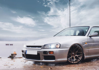 NISSAN SKYLINE R34 | JR18 18×9.5 & 18×10.5