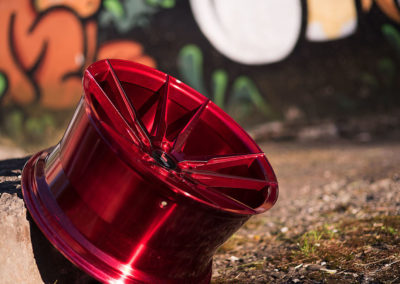 DISKY   JR21   Candy Red