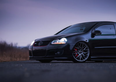 VW GOLF MK5 | JR28 | Hyper Black