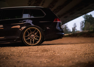 VW GOLF MK7 R LINE | JR25 19×8.5 & 19×9.5