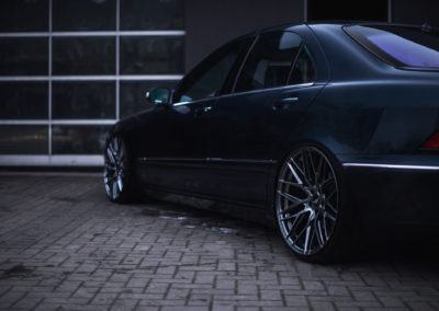 MERCEDES S KLASA | JR28 | Hyper Black | 20×8.5 & 20×10
