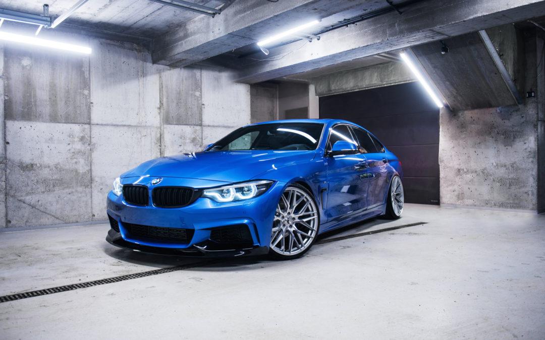 BMW 4 GRANDCOUPE | JR28 | Silver
