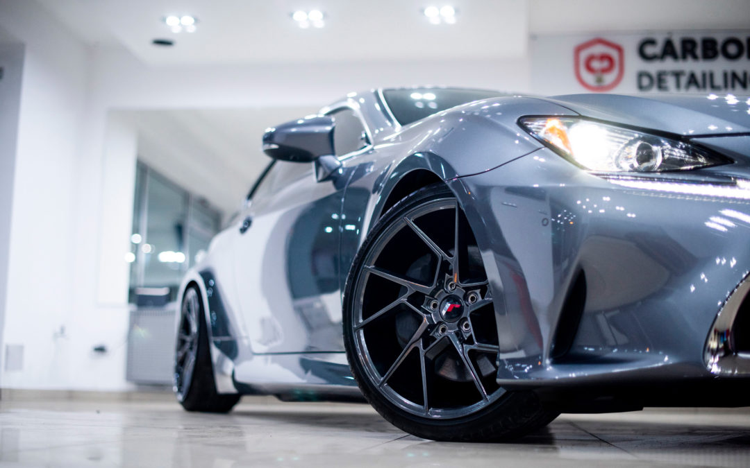 LEXUS RC | JR33 | Hyper Black